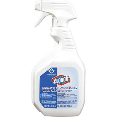 Bathroom Cleaner, 30 oz. Trigger Spray Bottle, Unscented Liquid, Ready To Use, 9 PK