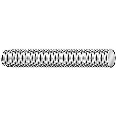M10-1.50x1m, Threaded Rod, Stainless Steel, 304, Plain