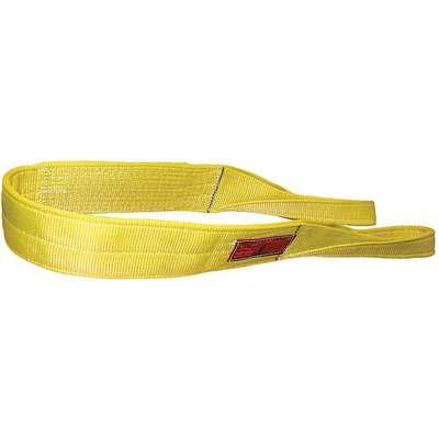 Type 3 Web Sling Flat Eye and Eye Number of Plies: 4 Nylon STREN-FLEX 8 ft 8 W