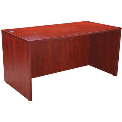 "Office Desk,Cherry Base,Overall 60"" W"