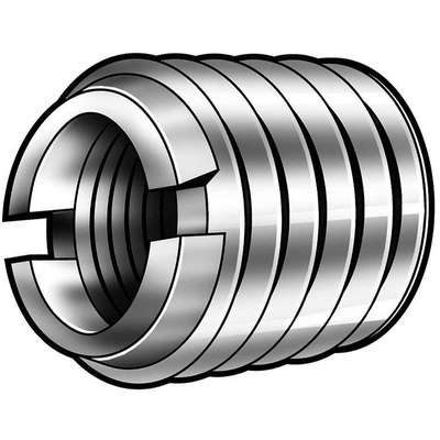 "13/32"" 303 Stainless Steel Self Locking Thread Insert with 10-24 Internal Thread Size, 5 PK"