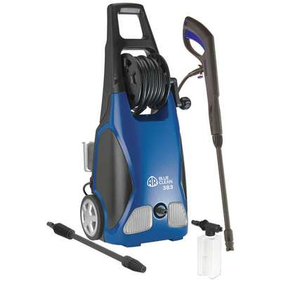 Light Duty (0 to1999 psi) Electric Cart Pressure Washer, Cold Water Type, 1.5 gpm, 1900 psi