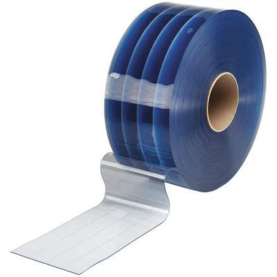 "Smooth, Reinforced PVC Replacement Strips, 12"" Strip Width, 200 ft. Roll Length"