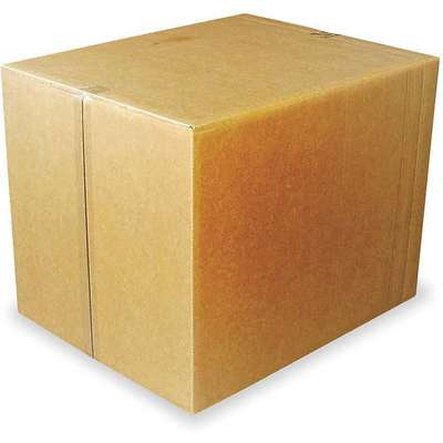 "Multidepth Shipping Carton, Brown, Inside Width 20"", Inside Length 20"", 100 lb., 1 EA"
