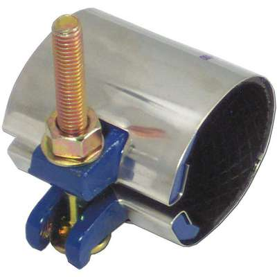 "Redi-Clamp Repair Clamp, 4"" Pipe Size, Fits Outside Dia. 4.50"""