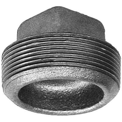 "Square Head Plug, MNPT, 3"" Pipe Size - Pipe Fitting"