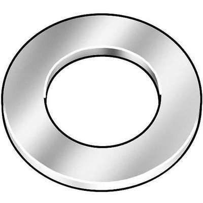 "5/16""x3/4"" O.D., Thick Flat Washer, Stainless Steel, 18-8, Plain, PK10"