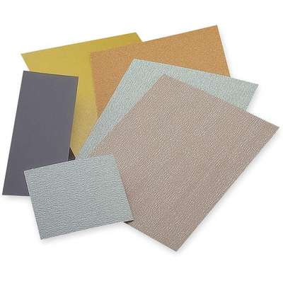 Sanding Sheet Assortment, Aluminum Oxide, Assorted Grit, 9 in. L x 3-2/3 in. W