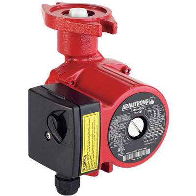 1/8 HP Cast Iron Wet Rotor, Maintenance Free Hot Water Circulating Pump
