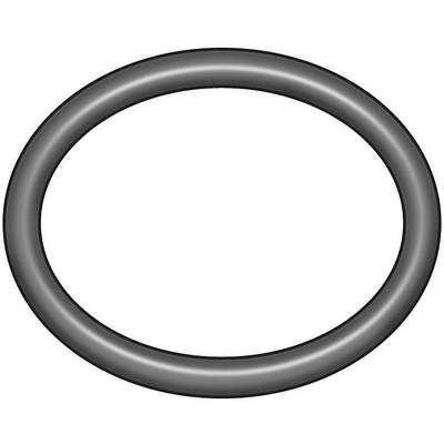 Round Medium Hard Buna N O-Ring, 28.0mm I.D., 34mmO.D., 10PK