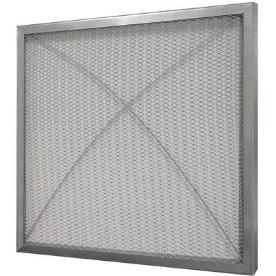 16x16x1 Filter Pad Frame, Galvanized Steel, For Use With Filter Pad