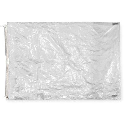 "24""L x 16""W Standard Reclosable Poly Bag with Drawstring Closure, Clear; 2.0 mil Thickness"