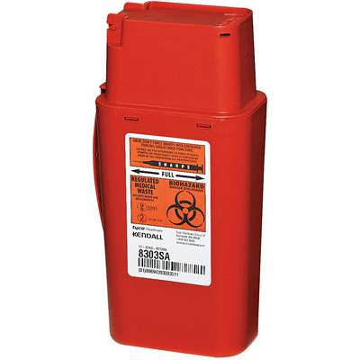 Sharps Container, 1/4 Gal., PK2