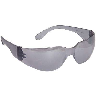 Mirage Scratch-Resistant Safety Glasses, Silver Mirror Lens Color