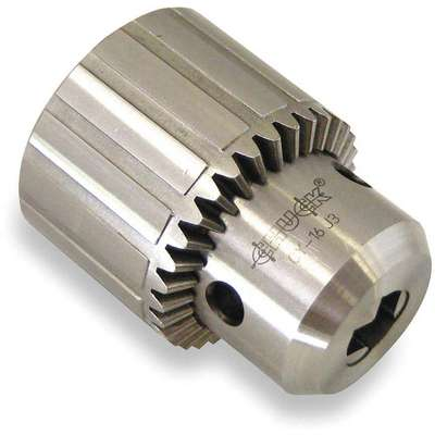 "Keyed Drill Chuck, 0.125"" to 0.625"" Capacity, 3JT Mounting Size"