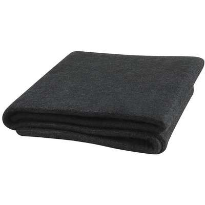 "Carbonized Fiber Welding Blanket, 6 ft. H x 6 ft.W x 0.150"" Thick, Black"