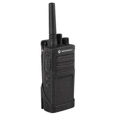 Handheld Portable Two Way Radio, MOTOROLA RM, 8, UHF, Analog, No Display