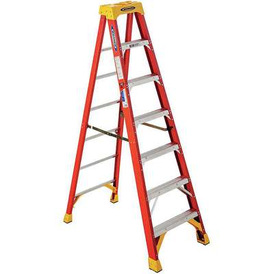 7 ft. 300 lb. Load Capacity Fiberglass Stepladder