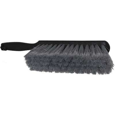 "13-1/4""L 60% Recycled PET Short Handle Bench Brush, Gray"