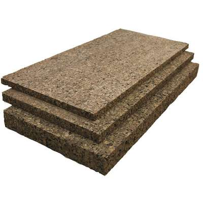 Cork Sheet,Insulation,1 In Th,12 x 36 In