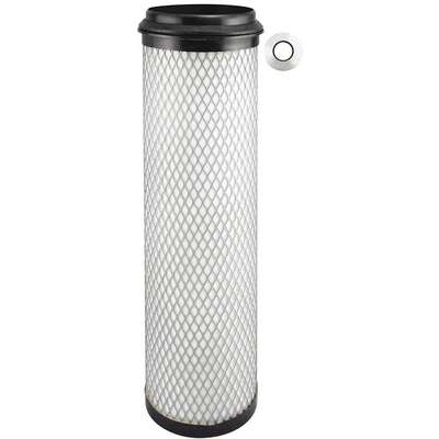 "Air Filter, Round, 14-15/16"" Height, 14-15/16"" Length, 4-13/32"", Flange Gasket 4-25/32"" Outside Dia."