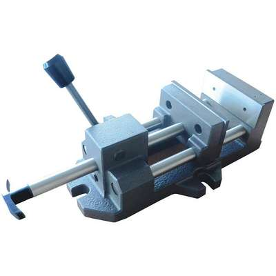 Quick-Release Vise, Fixed Base, 6-5/8 Jaw Opening (In.), 6 Jaw Width (In.)