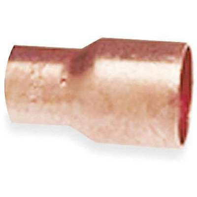 "Wrot Copper Reducer, C x C Connection Type, 2"" x 1-1/2"" Tube Size"