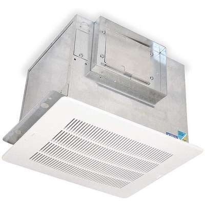 Ceiling Ventilator, 1 Phase, Number of Speeds 1, Ceiling, Horizontal or Vertical Mounting Position