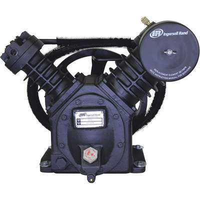 2-Stage Splash Lubricated Air Compressor Pump with 41 oz. Oil Capacity