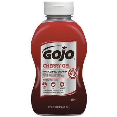Gojo Gel Hand Cleaner; 10 oz., Cherry Scented