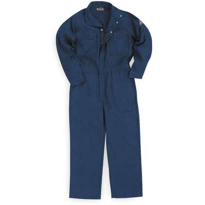 Nomex® IIIA, Flame-Resistant Coverall, Size: M, Color Family: Blues, Closure Type: Zipper