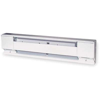 Electric Baseboard Heater, Residential, 208/240VAC, Amps AC 10.4/8.7, 1 Phase, BtuH 8532/6143