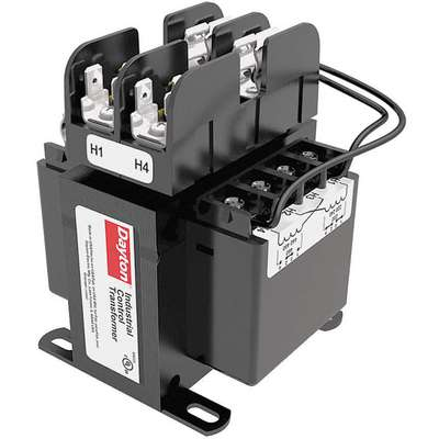 Control Transformer, Input Voltage: 240VAC, 480VAC, Output Voltage: 120VAC