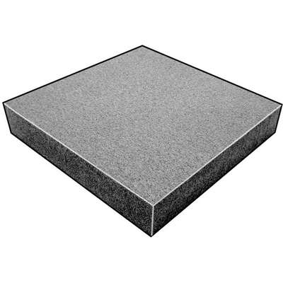 "Water-Resistant Closed Cell Foam Sheet, 220 Polyethylene, 1/2"" Thick, 24"" W X 54"" L, Charcoal"