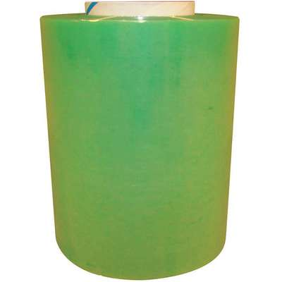 "Stretch Wrap, Hand Dispensed, 1-Side Cling, Standard, 5"" x 650 ft., Gauge: 120, Green"