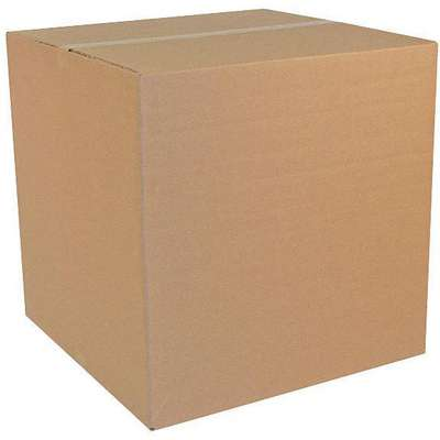 "Multidepth Shipping Carton, Brown, Inside Width 36"", Inside Length 36"", Inside Depth 36"", 100 lb."