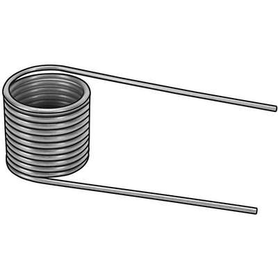 Music Wire Right Hand Torsion Spring Spring Assortment; Number of Pieces: 44