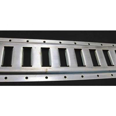 Horizontal E-Track,Zinc Plated Finish