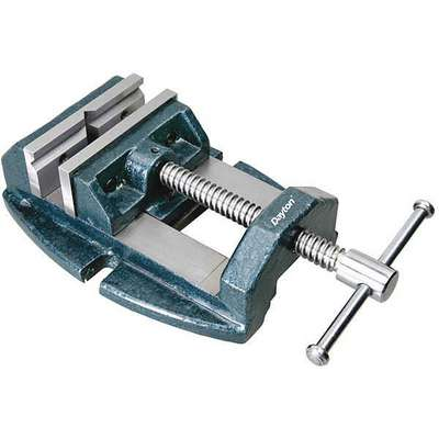 Machine Vise,  Precision,  Fixed Base,  4 in Jaw Opening (In.),  4 in Jaw Width (In.)