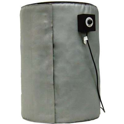 Blanket Drum Heater, Electric, 770 Watts, 55 gal., 120 Voltage, 6.4 Amps AC