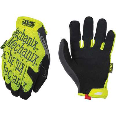 Uncoated Cut/Impact Resistant Gloves, ANSI/ISEA Cut Level 5, Polyester, Spandex, Technor Lining, H