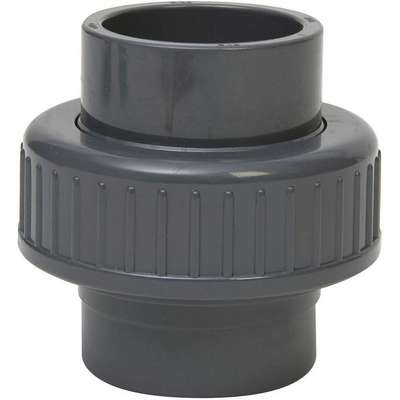 "PVC Union, Socket x Socket, 1-1/2"" Pipe Size - Pipe Fitting"