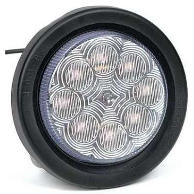 Clearance Light, LED, Red, Round, 2-1/2 Dia