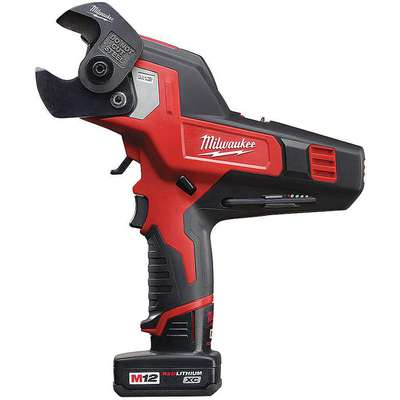 Milwaukee 2472-21XC Cordless Cable Cutter Kit, 12.0V Li-Ion