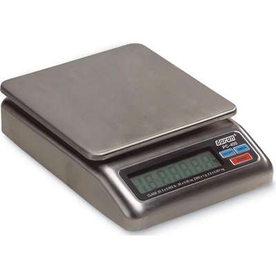 1000g/2 lb. Digital LCD Compact Bench Scale