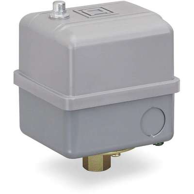 "Air Compressor and Water Pump Pressure Switch; Range: 32 to 250 psi, Port Type: (1) Port, 1/4"" FNPS"