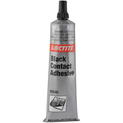 5 fl. oz. Solvent-Based Black Contact Adhesive, Black