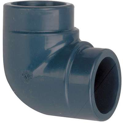 "PVC Elbow, 90°, Socket x Socket, 1"" Pipe Size - Pipe Fitting"