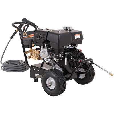 Industrial Duty (3300 psi and Greater) Gas Cart Pressure Washer, Cold Water Type, 3.5 gpm, 4000 psi