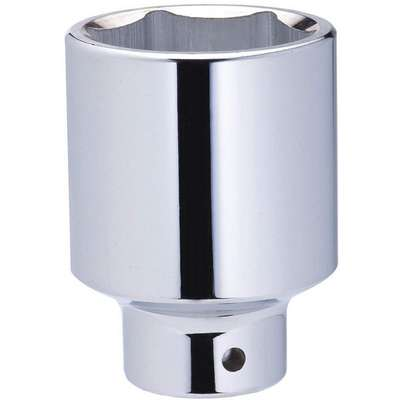 "46mm Alloy Steel Socket with 3/4"" Drive Size and Chrome Finish"